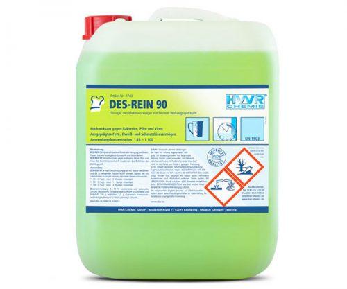 DES-REIN 90 Desinfektionsreiniger