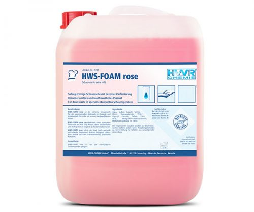 HWS-FOAM rose